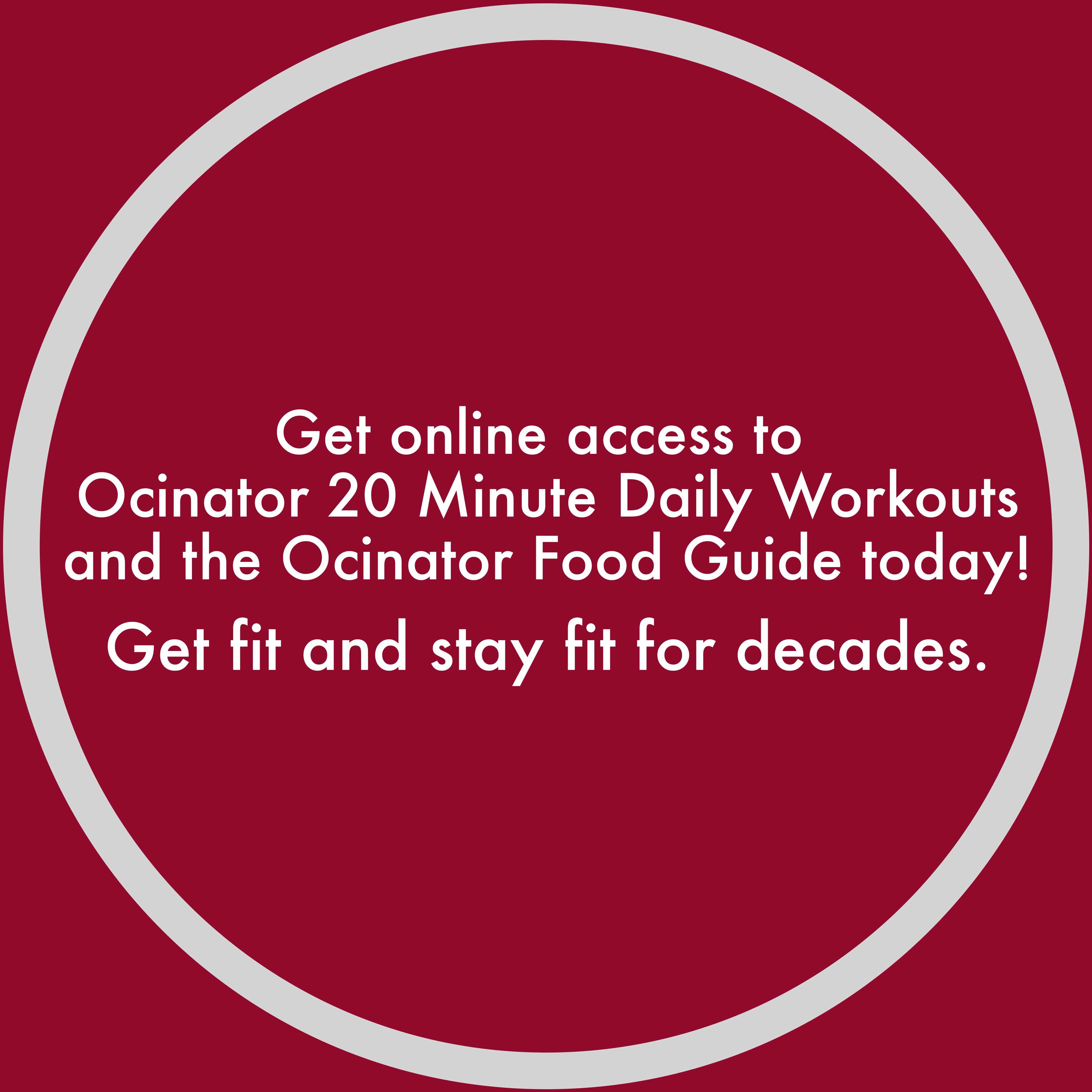 Get online access to ocinator Homepage