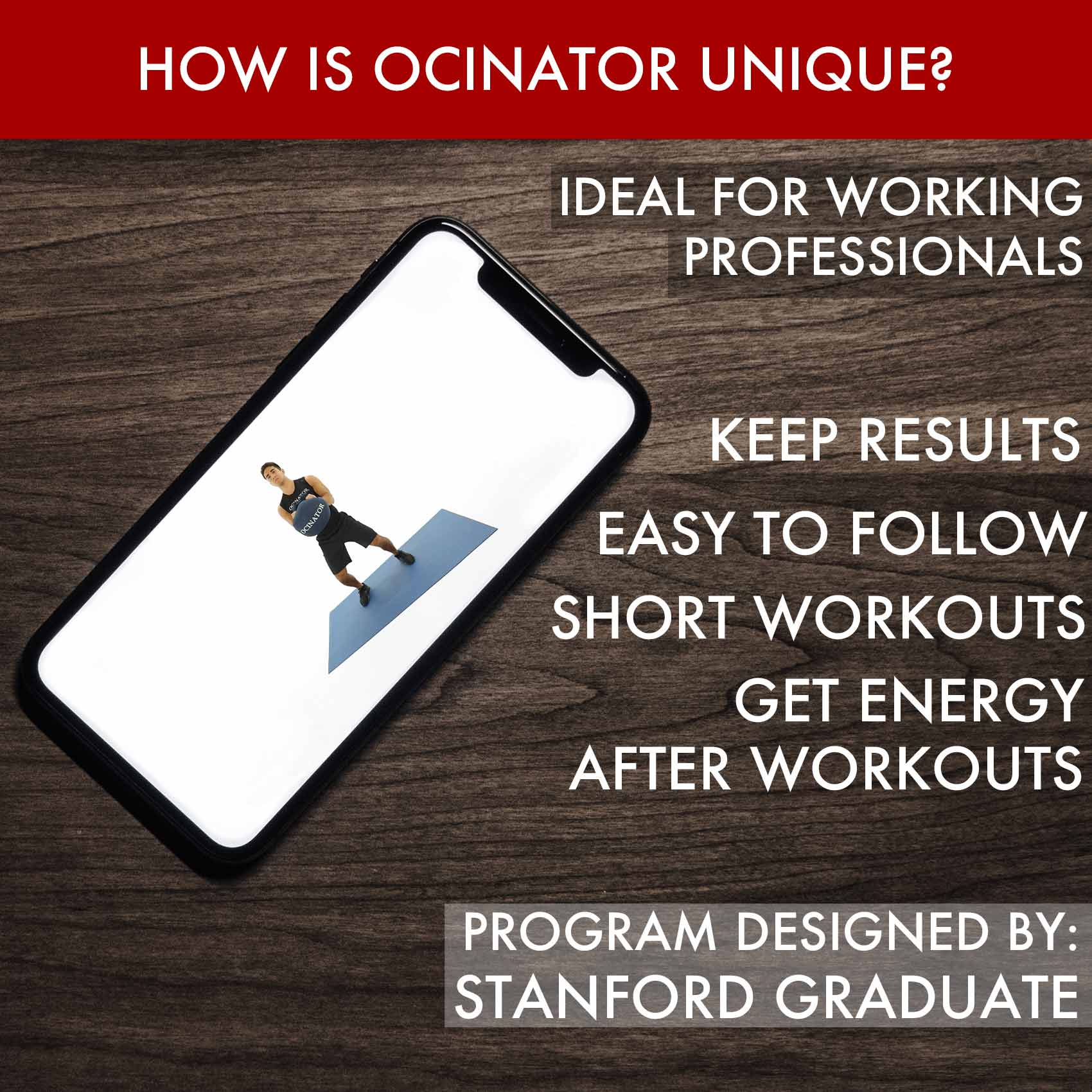 Ocinator Home Page How is Ocinator Unique