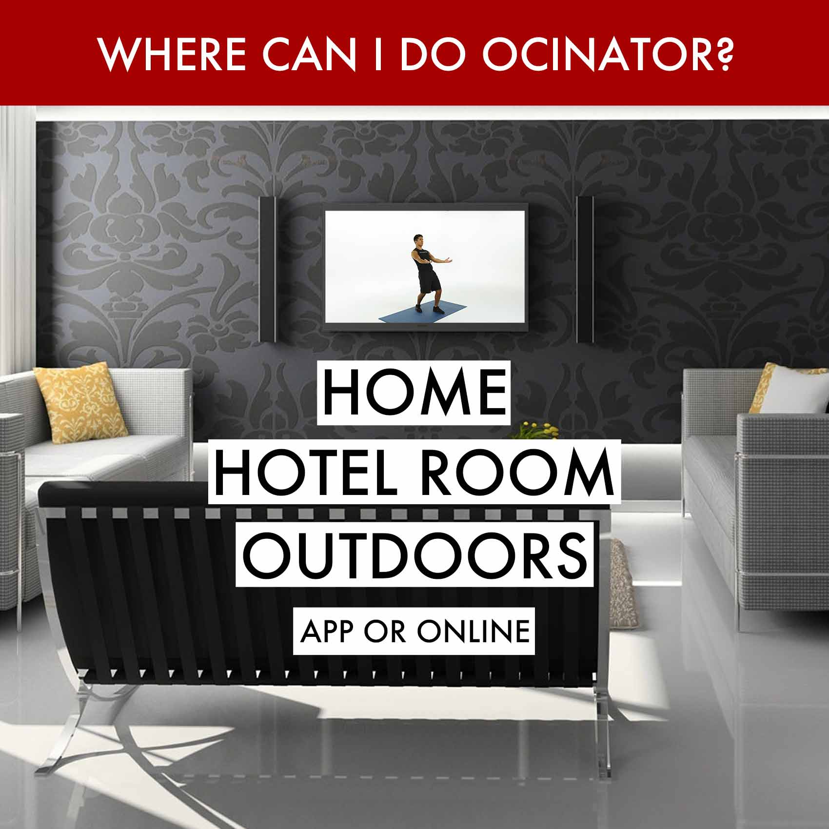 Ocinator home page where can I do Ocinator