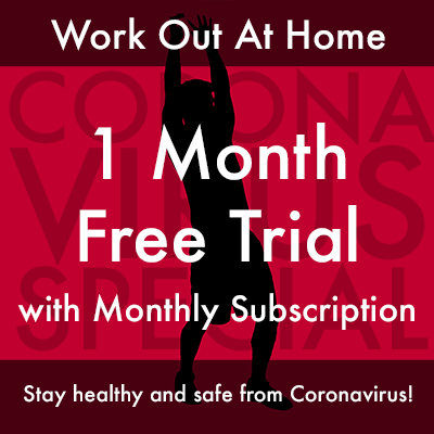 Work out at home coronavirus